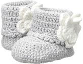 Jefferies Socks Daisy Boot Crochet Bootie (Infant)