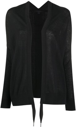 AllSaints Tie Front Cardigan