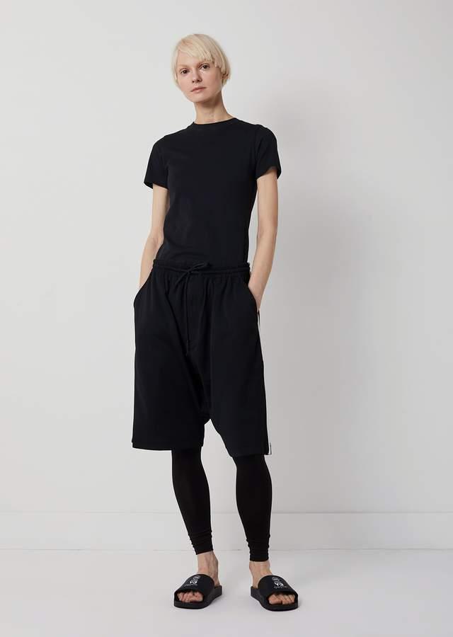 Y-3 3-Stripes Track Shorts Black