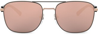 Bvlgari Diagono double-bridge aviator sunglasses