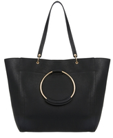 Accessorize Metal Ring Tote Bag