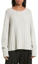 Nili Lotan Everly Rib Knit Cashmere Sweater