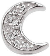 Zales PersonaGirla Sterling Silver Crystal Crescent Moon Charm