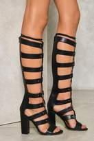 Nasty Gal Poison Lace-Up Gladiator Heel