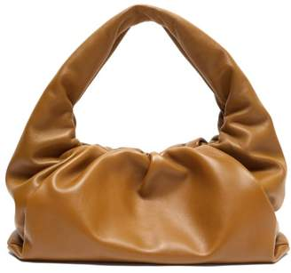 Bottega Veneta The Shoulder Pouch Large Leather Bag - Womens - Tan