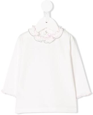 Il Gufo Frill-Trimmed Sweatshirt