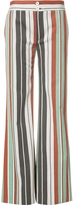 Chloé Striped Flared Trousers