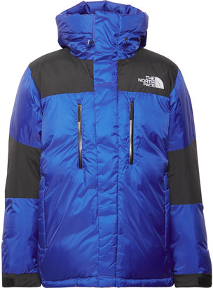 The North Face Original Himalayan Windstopper Canvas-Panelled Quilted Gore-Tex Hooded Down Jacket