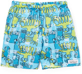 Flap Happy Crazy 8's Swim Trunks - Infant Toddler & Boys