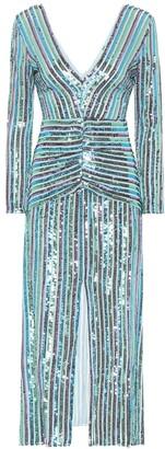 Rixo Emmy sequined maxi dress