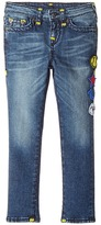 True Religion Tony Jeans with Patches in Rustic Indigo Boy's Jeans