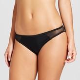 Xhilaration Women's Mesh Inset Bikini Bottom