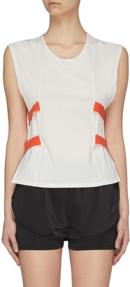 Particle Fever Quick-dry Elastic Strip Side Closure Tank Top