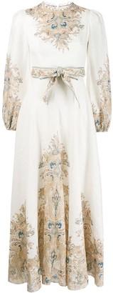 Zimmermann Freja floral paisley dress