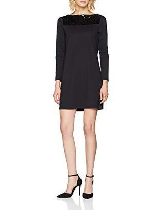 S'Oliver Women's 14.811.82.6985 Dress, Black 9999, 10 (Size: )