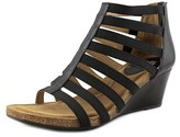 Sofft Mati Open Toe Leather Wedge Sandal.
