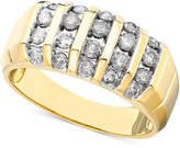 Macy's Men's Diamond Ring in 14k Gold (1 ct. t.w.)