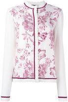 Salvatore Ferragamo floral print cardigan
