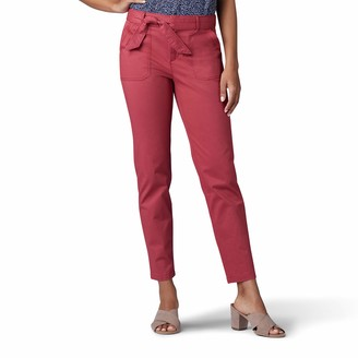 Lee Women's Regular Fit Straight Leg Utility Ankle Pant