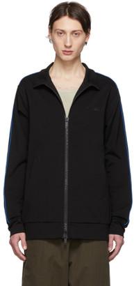 Unravel Black Jersey Motion Track Jacket