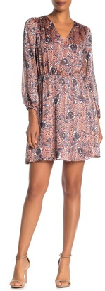 Collective Concepts V-Neck Printed Dress
