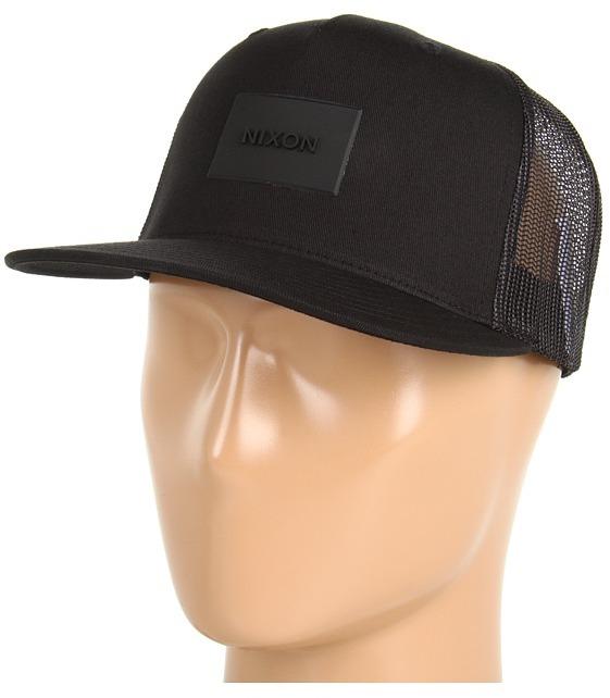 Nixon Ten Trucker Hat (Black) - Hats