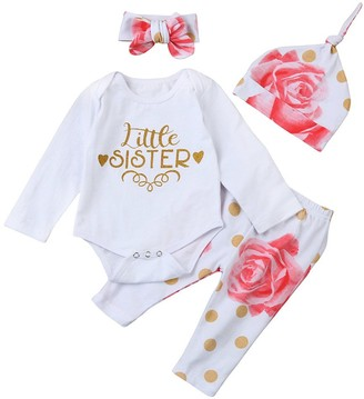 Weant Baby Clothes Girls Clothes Set for 3-18Months