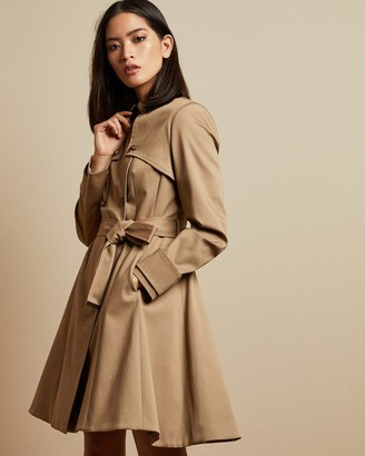 Ted Baker PANDURA Cotton fitted mac coat