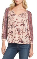 Lucky Brand Women's Print Blouse