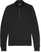 Tom Ford - Merino Wool Polo Shirt