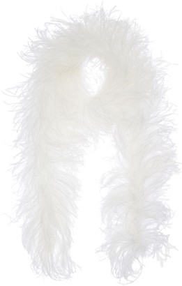 Simonetta Ravizza Lvr Exclusive Ostrich Feather Scarf