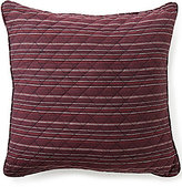 Daniel Cremieux Spencer Striped & Diamond Patterned Square Pillow