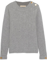 Vanessa Bruno Wool And Cashmere-blend Sweater - Gray