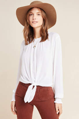 Cloth & Stone Tie-Front Blouse