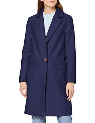 Miss Selfridge Women's Crombie Wool Blend Coat, 8