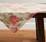 Pottery Barn Marla Floral Table Throw