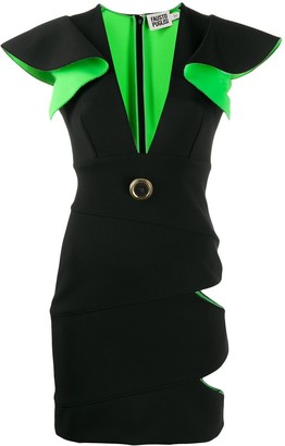 Fausto Puglisi Cut-Out Sun Dress