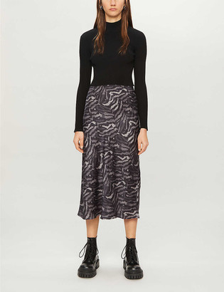 AllSaints Hera Remix two-in-one dress