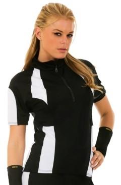 Instaslim InstantFigure Color Block Zip-Up Cycling Jacket