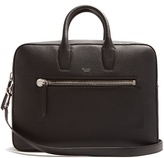 Mulberry Kenrick grained-leather briefcase