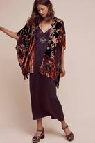 Anthropologie Lykke Patched Kimono