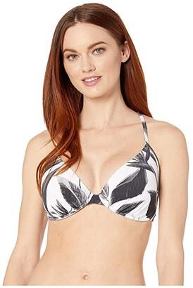 Body Glove Black White Solo Underwire Bikini Top D-DD-E-F Cup (Black) Women's Swimwear