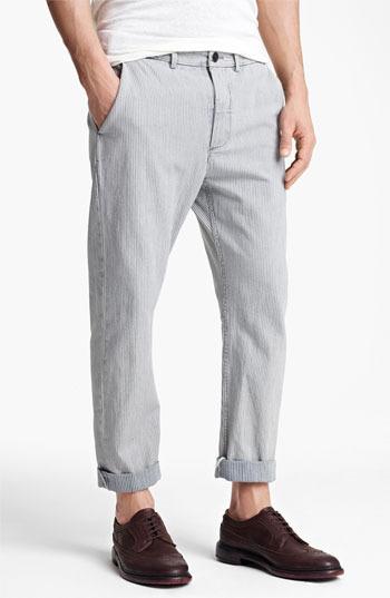 Rogan 'Dune' Stripe Pants Indigo Stripe 32