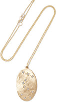 Brooke Gregson Scorpio 14-karat Gold Diamond Necklace