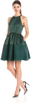 Erin Fetherston Erin Women's Savannah Halter Illusion Hem Dress