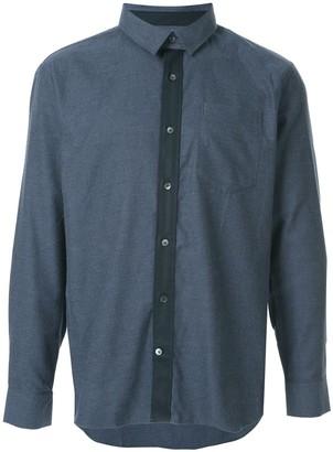 Cerruti plain shirt