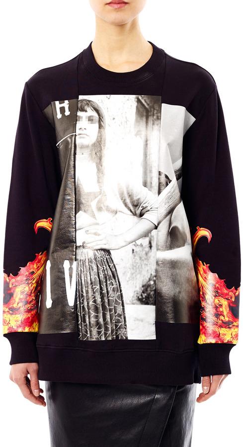 Givenchy Collage-print sweatshirt