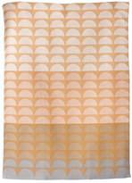 ferm LIVING Organic Cotton Jaquard Woven Bridges Rose Tea Towel