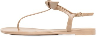 Alexandre Birman 10MM JELLY CLARITA RUBBER THONG SANDALS