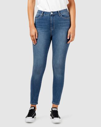 Jeanswest Freeform 360 Contour Curve Embracer High Waisted Skinny 7/8 Jeans